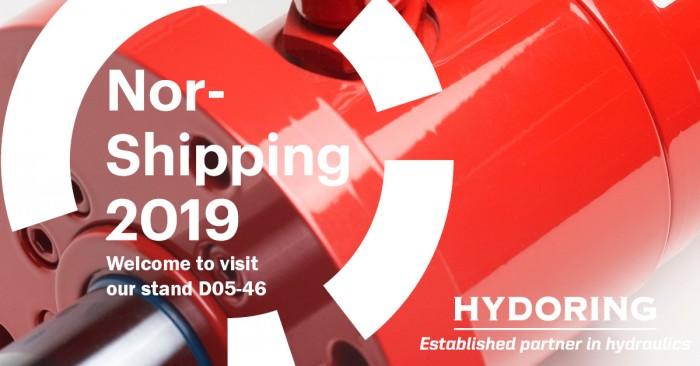Nor-Shipping 2019 punainen