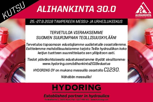 Alinhankinta 30 0   2018 Kutsu