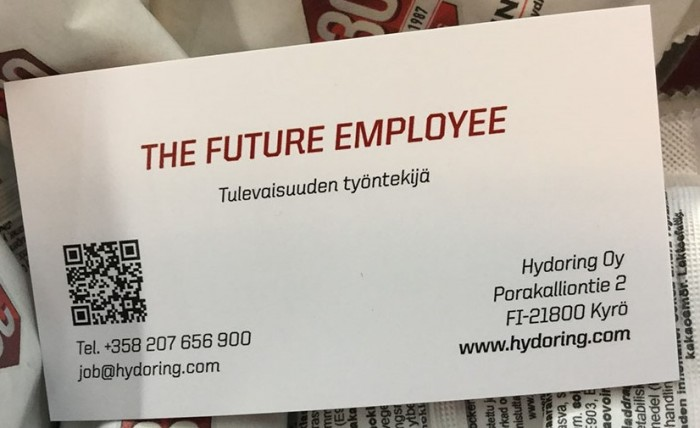 The future employee